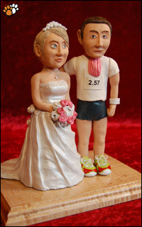 Wedding Cake Topper Sculpture