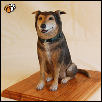 Dog Sculpture of Tanzee