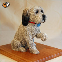 Dog Sculpture of Oscar